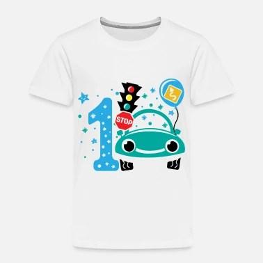 First Birthday Boy 1st Birthday Toddler Gift 1year Toddler Premium T Shirt Spreadshirt