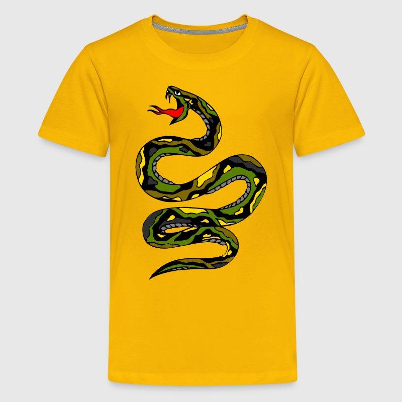 Rat T Black Snake Shirt