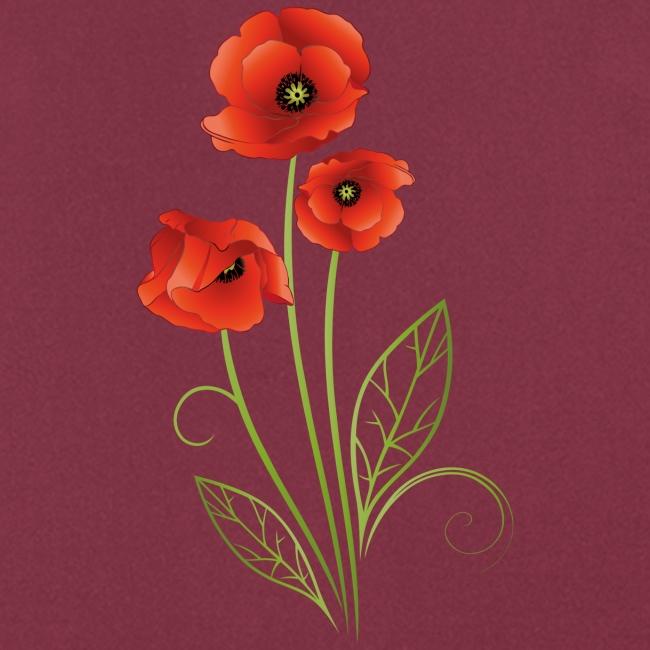 Rote Mohnblumen Im Feld Wandbild In Verschiedenen Grossen Eur 22