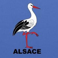 Cigogne Alsace - Sac en tissu   LAlsace sur mon t-shirt