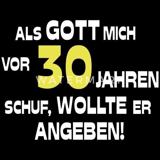 30 Geburtstag Hangebusen Lustig Spruch Dreissig Frauen Premium T