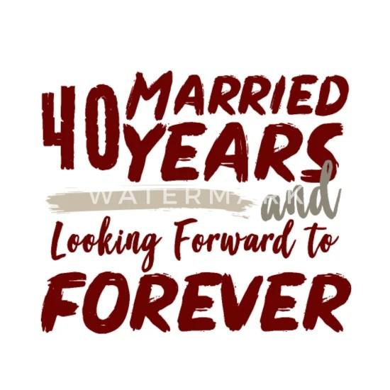 40 Jahre Hochzeitstag 24 Hochzeitstag Satinhochzeit