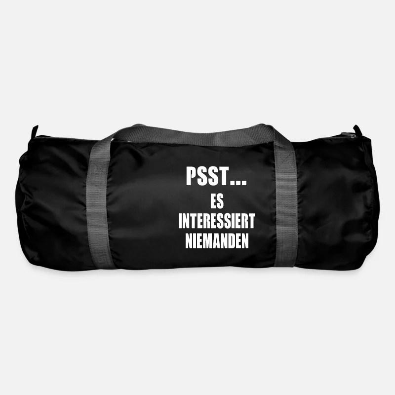 Spruch Nett Ironie Lustig Sarkasmus Humor Geschenk Sporttasche