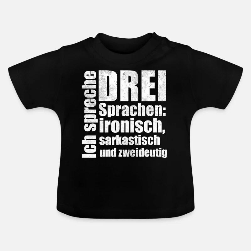 Ironisch Sarkastisch Zweideutig Spruch Geschenk Baby T Shirt