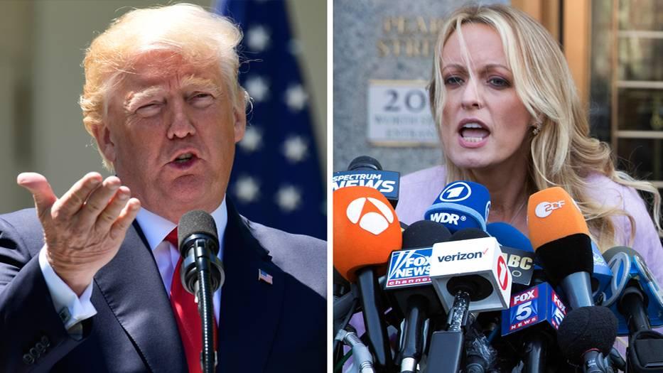 Le président américain Donald Trump a été poursuivi en justice par la star du porno Stormy Daniels pour diffamation