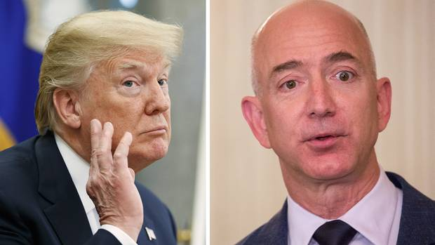 Amazon Chef Jeff Bezos im Visier von Donald Trump