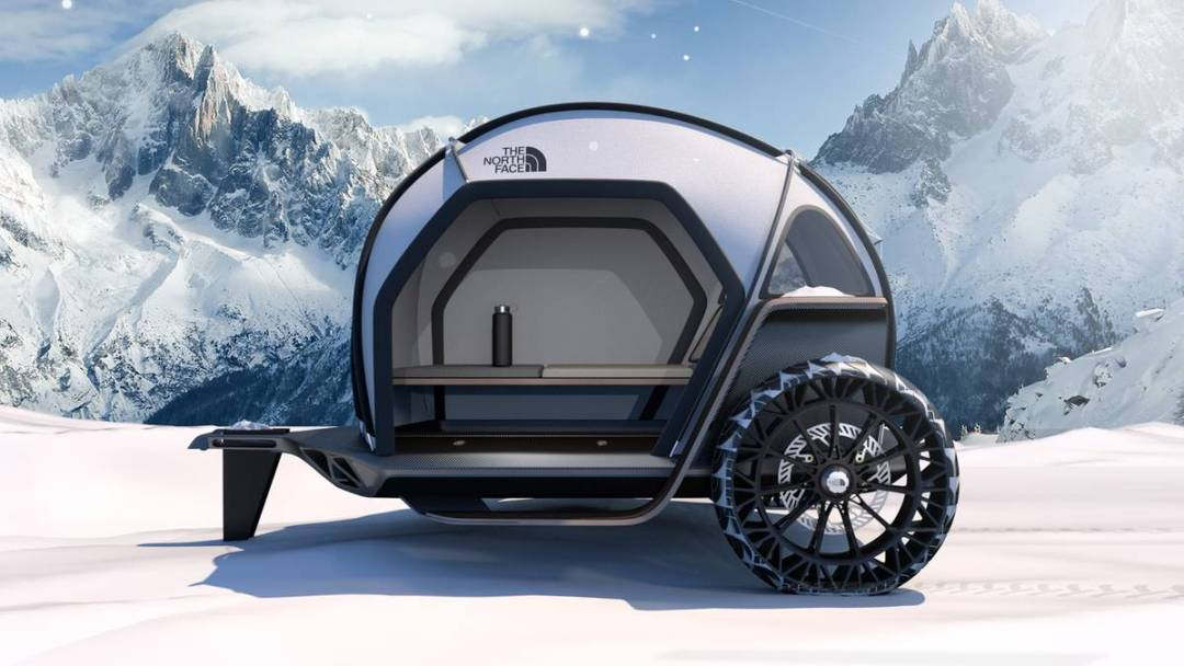 Camping-Anhänger von BMW und North Face