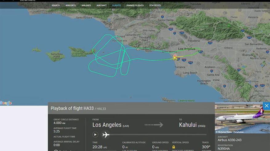 Hawaiian Airlines: Horror flight to Hawaii: Airbus has to turn back three times