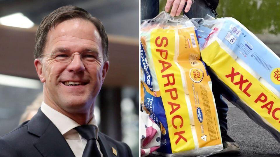 coronavirus konnen zehn jahre kacken rutte zu toilettenpapier kaufen