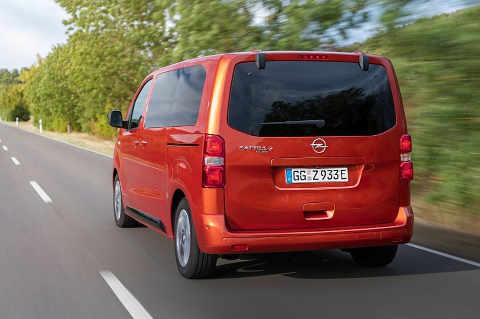The Opel Zafira-e Life is available in three lengths