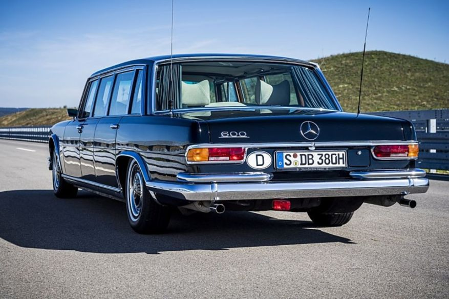Mercedes 600 of the W 100 series