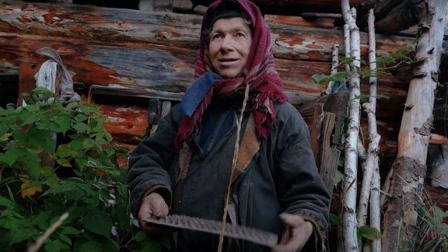 Agafia Lykov im Jahre 2018.