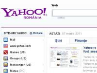 Yahoo.ro s-a lansat