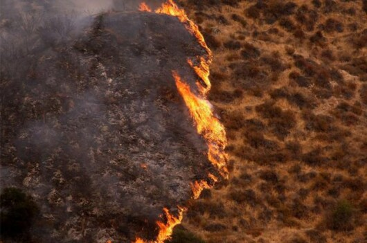 Incendiu de padure - Sylmar, California (Sept. 2009)