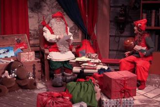 """Din Laponia, moșul îi liniștește pe copii. """"Am o veste excelentă: Crăciunul nu va fi anulat!"""""""