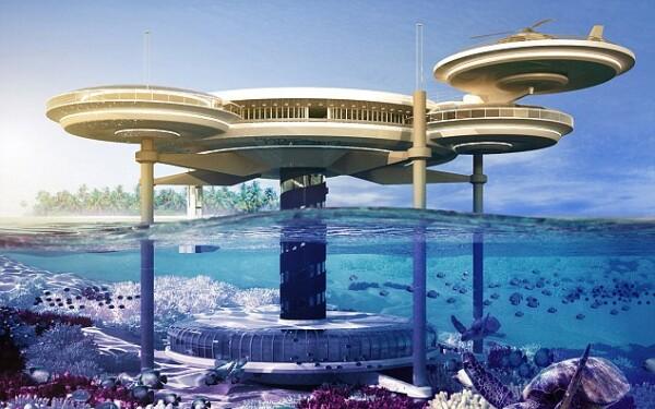 hotel subacvatic Water Discus, Dubai