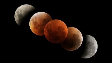 Cea mai lunga eclipsa totala de Luna din acest secol, 15-16 iunie