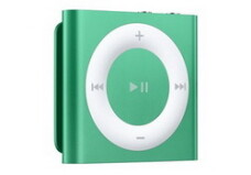 MP3 player Apple iPod Shuffle 2GB, Generatia 4 (verde)