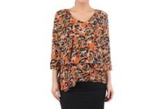 Bluza din voal orange 513