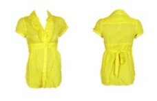 Camasa Tally Weijl Pretty Yellow