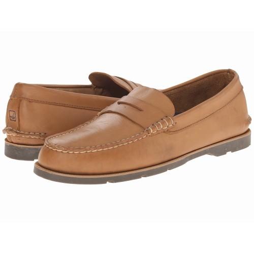 Giày lười da lộn nam