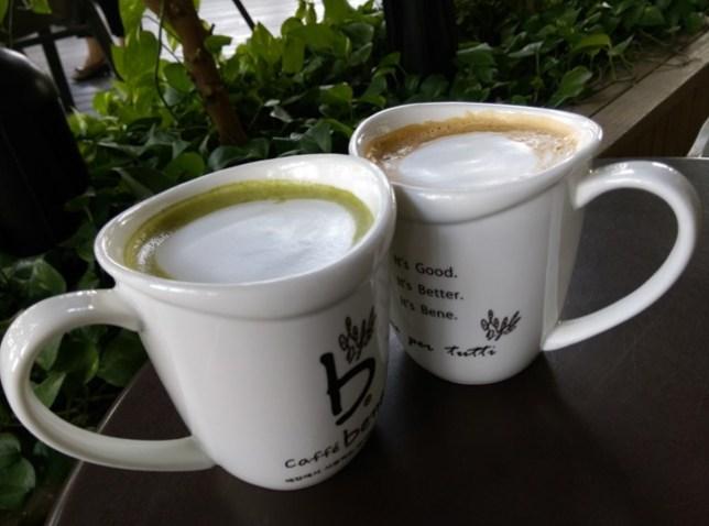 IMAG1695 左營-Caffe Bene韓風咖啡館咖啡陪你 不過就只是咖啡館