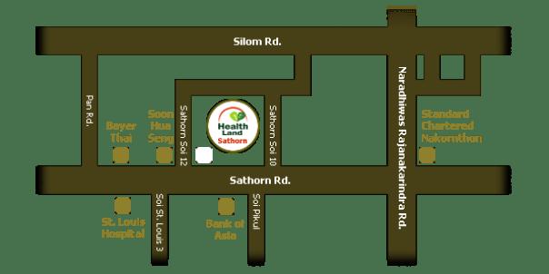 healthland17 Bangkok-Health Land 環境棒價格合理的一流按摩會館