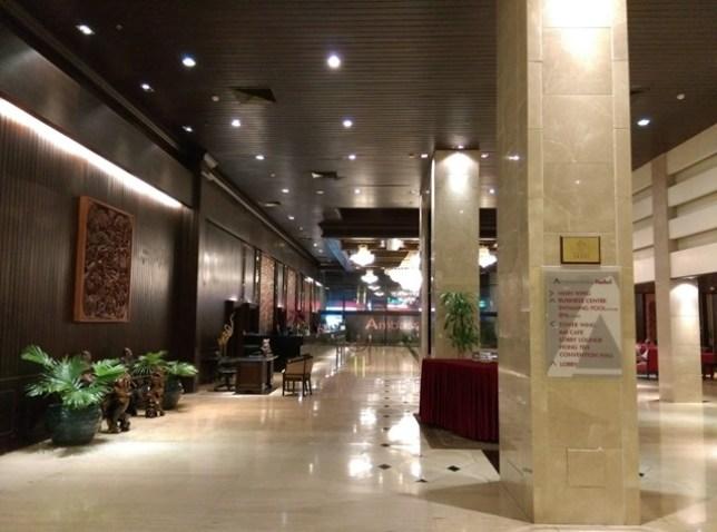 hotel3 Bangkok-Ambassador Hotel老飯店 交通方便
