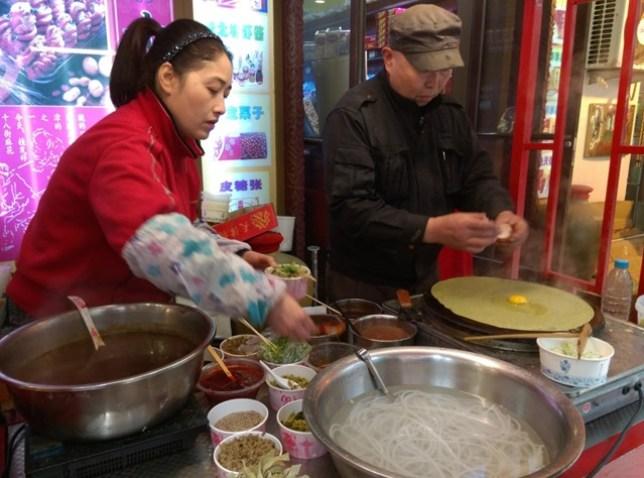 IMAG3617 Tianjin-南市食品街 來一趟品嚐所有天津小吃