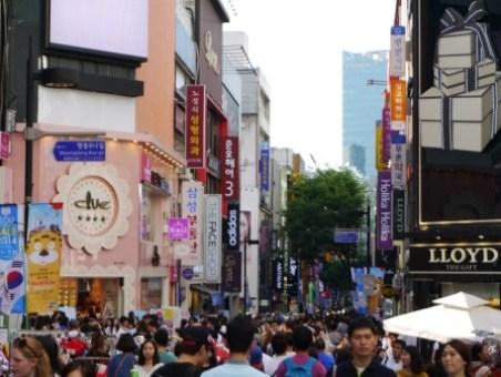 clip_image001 Seoul-明洞 購物天堂