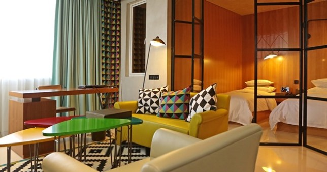 thedesigner14 Seoul-弘大旁設計飯店Hotel The Designers真的有設計有設計