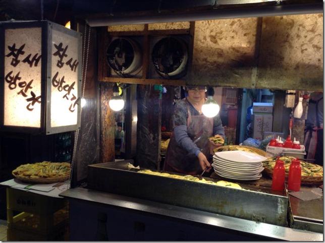 034 Seoul-참새방앗간 傳統炸物好好吃啊 來乾一杯!!!