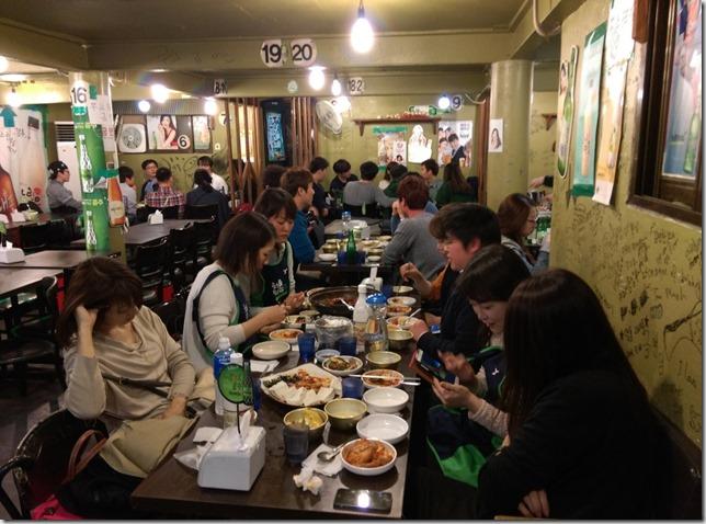 104 Seoul-참새방앗간 傳統炸物好好吃啊 來乾一杯!!!