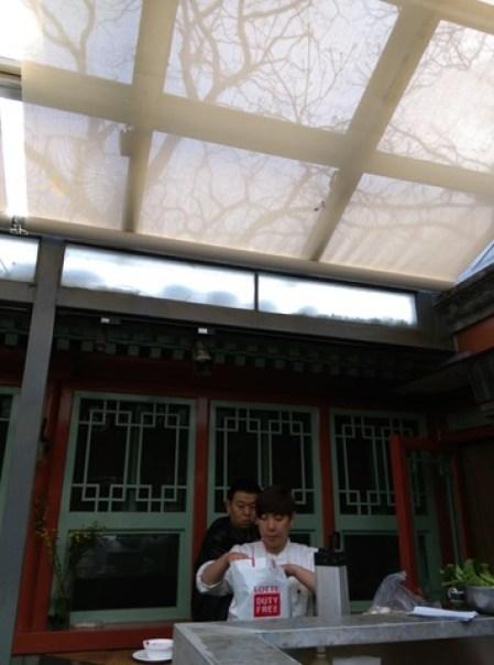 1809 Beijing-北京老胡同老房子日式料理店 十八茶膳 的西式料理 絕對衝突