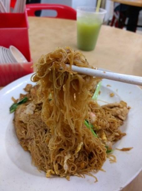 5 Johor Bahru-阿明家鄉小炒 三樓干米粉 果真是必吃