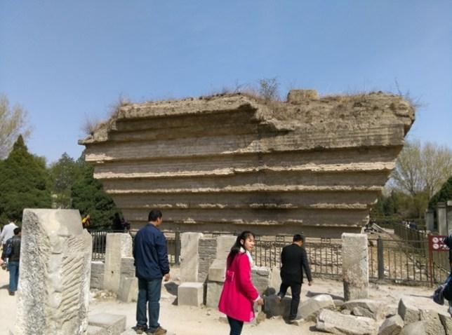 53 Beijing-圓明園 英法聯軍毀的差不多了 但還是被列入世界文化遺產