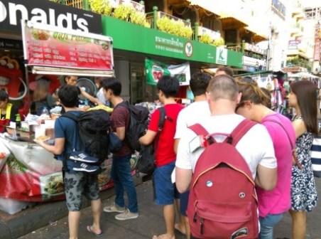 Khaoshan28 Bangkok-高山路Khaosan Road背包客天堂