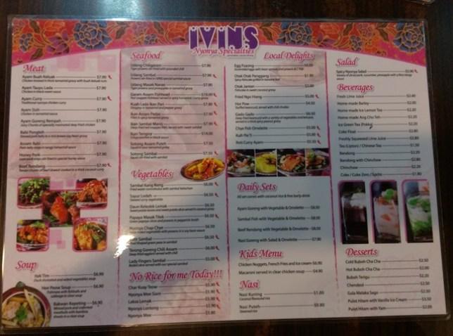 Ivins03 Singapore-Ivins南洋特色菜 不起眼的小餐廳 道道精采