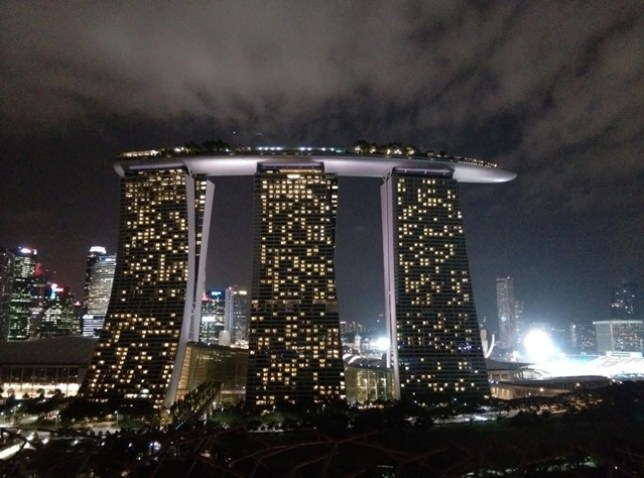 gardenbythebay36 Singapore-IndoChine-Gardens by the Bay中SuperTree上享受美食享受美景