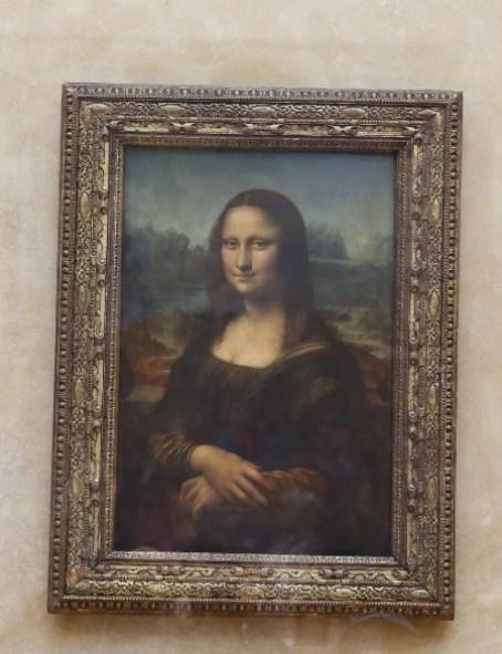 11111015 Paris-巴黎羅浮宮Musee du Louvre 藝術殿堂眼花撩亂看不完 一馬當先看蒙娜麗莎