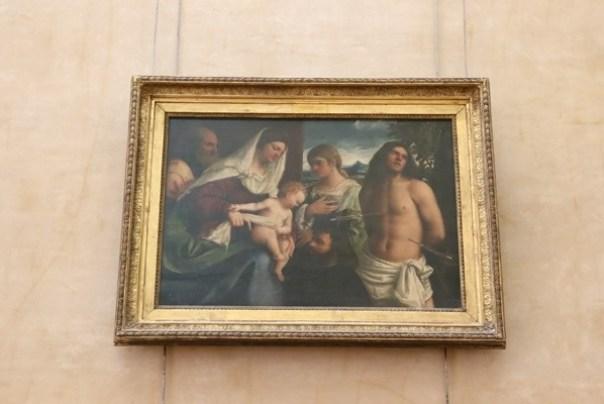 11111023 Paris-巴黎羅浮宮Musee du Louvre 藝術殿堂眼花撩亂看不完 一馬當先看蒙娜麗莎