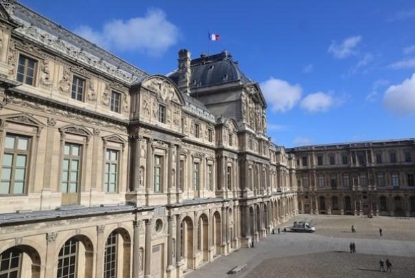 11111035 Paris-巴黎羅浮宮Musee du Louvre 藝術殿堂眼花撩亂看不完 一馬當先看蒙娜麗莎