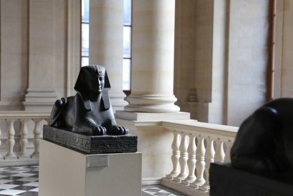 11111039 Paris-巴黎羅浮宮Musee du Louvre 藝術殿堂眼花撩亂看不完 一馬當先看蒙娜麗莎