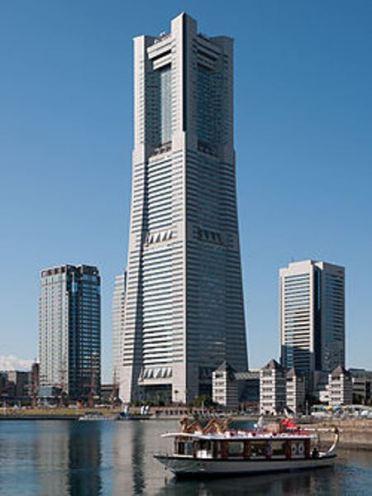 112 Yokohama-來地標Landmark大樓 賞橫濱港夜景