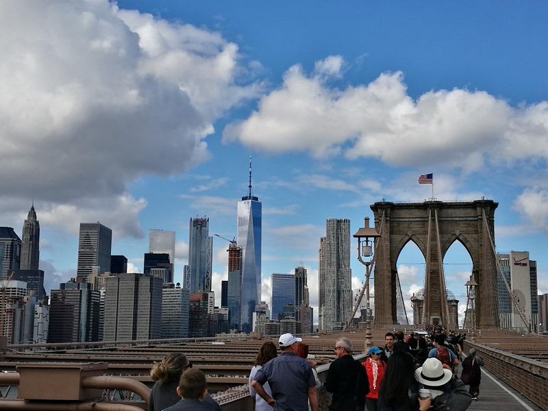 brooklynbridge02 New York-果真大蘋果之紐約真好玩 散步Brooklyn Bridge品味紐約天際線