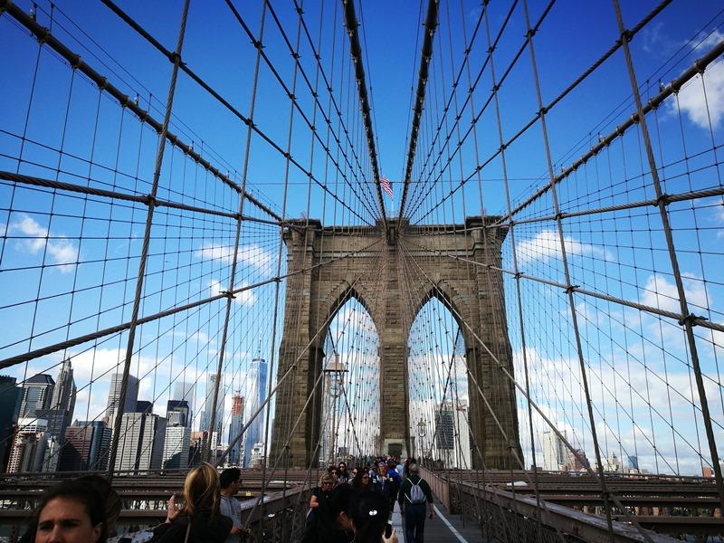 brooklynbridge07 New York-果真大蘋果之紐約真好玩 散步Brooklyn Bridge品味紐約天際線