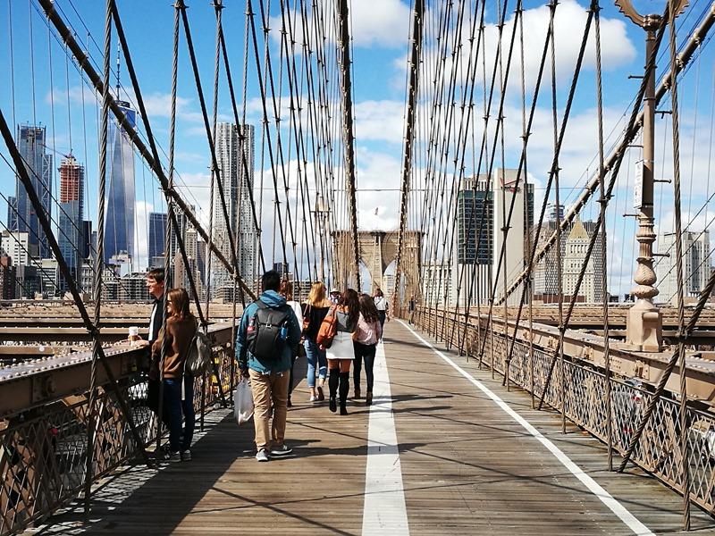 brooklynbridge14 New York-果真大蘋果之紐約真好玩 散步Brooklyn Bridge品味紐約天際線