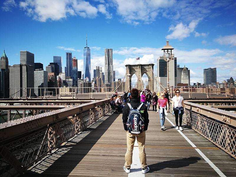 brooklynbridge17 New York-果真大蘋果之紐約真好玩 散步Brooklyn Bridge品味紐約天際線