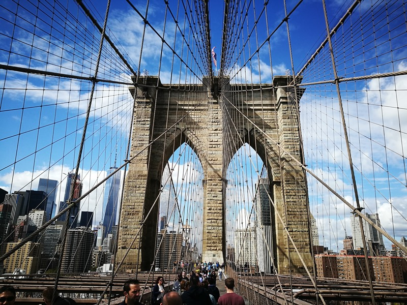 brooklynbridge21 New York-果真大蘋果之紐約真好玩 散步Brooklyn Bridge品味紐約天際線