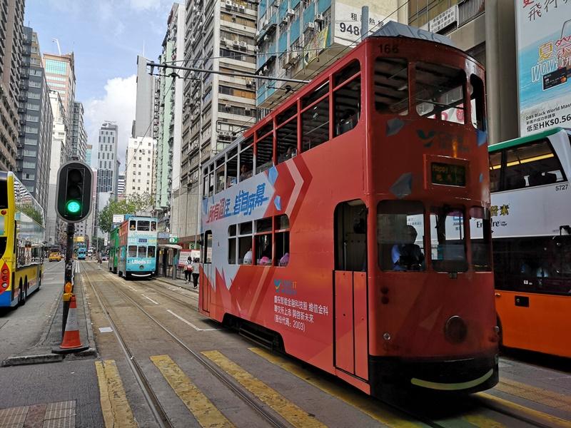 dingdingcar0412 HK-叮叮車 在鬧區中的復古車隊 搭上叮叮車享受忙碌香港的緩慢